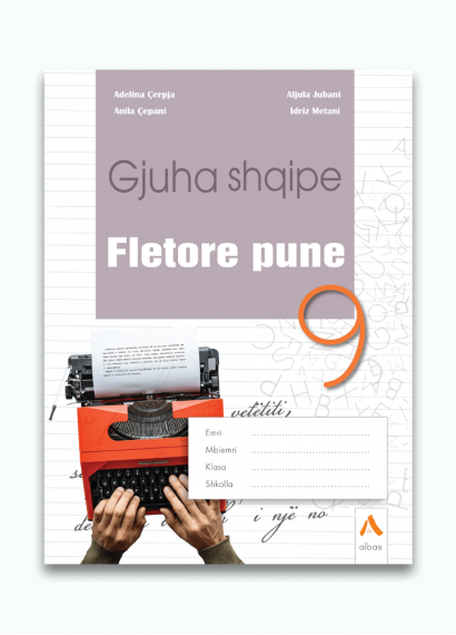 Fletore pune Gjuha shqipe 9