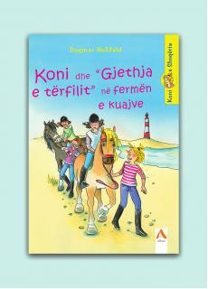 """Koni dhe """"Gjethja e tërfilit"""" në fermën e kuajve"""