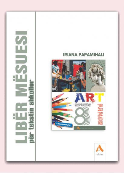 Libër mësuesi për tekstin shkollor Art Pamor 8