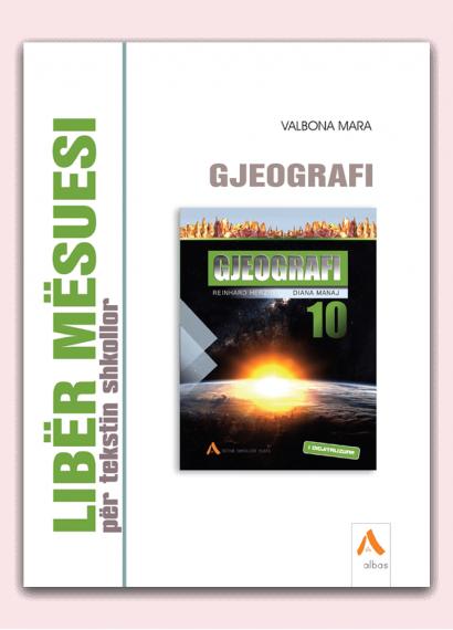 Libër mësuesi për tekstin shkollor Gjeografi 10
