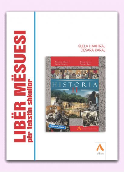 Libër mësuesi për tekstin shkollor Historia 11