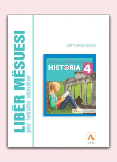 Libër mësuesi për tekstin shkollor Historia 4