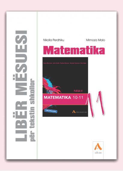 Libër mësuesi për tekstin shkollor Matematika 11