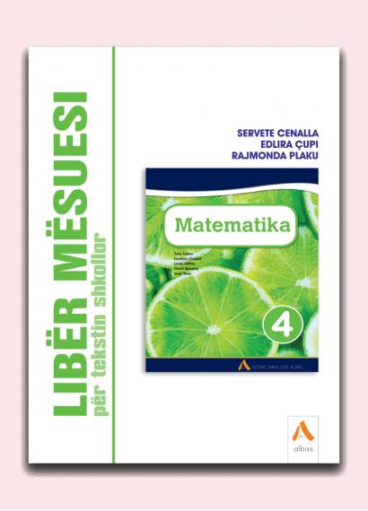 Libër mësuesi për tekstin shkollor Matematika 4