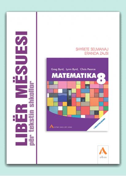 Libër mësuesi për tekstin shkollor Matematika 8